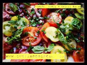 Tomato, Chilli & Basil Salad