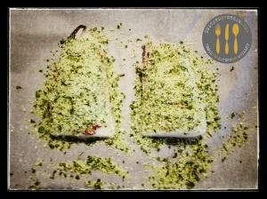 Parmesan & Herb Cod