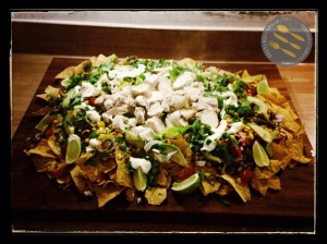 Mexican Chicken Nachos